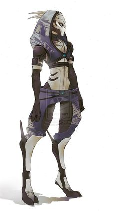 Perhaps one of the companions could be far more mechanical than human and resemble this badass character some? I love the little human clothing that they wear even though they are more alien / bionic