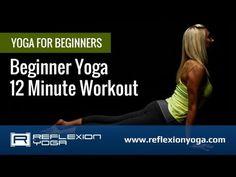 ▶ Yoga Classes - Yoga for Beginners - 12-Minute Beginner Yoga Routine! - YouTube