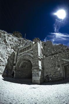 Tunel de Ogarrio. Real de Catorce, San Luis Potosí.