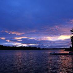 Daybreak - Mcgregor Bay Georgian Bay Ontario Canada #art #photography #twilight #dawn #sunrise #magical