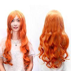 カラーカールロング  80cm  コスプレウィッグ (橙赤色) [並行輸入品] Dazone http://www.amazon.co.jp/dp/B00Y86CYCY/ref=cm_sw_r_pi_dp_5fWRvb1CTQHHT