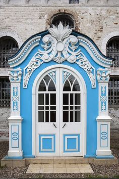 Ornate door in Russia
