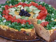 Savory Southwest Cheesecake