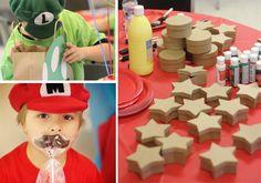 Amy's Party Ideas: {Real Party} Mario Mark & Luigi Luke