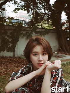 chaeyoung, twice, and kpop image Kpop Girl Groups, Korean Girl Groups, Kpop Girls, Cut Her Hair, Hair Cuts, K Pop, Short Styles, Long Hair Styles, Twice Chaeyoung