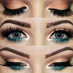 Wow, for green or blue eyes...