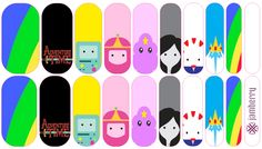 Adventure Time nails! Nail Art Studio!  #adventuretimenails #nailartstudio #adventuretime #nails