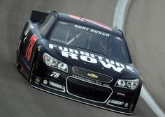 Kurt Busch Salvages 20th-Place Finish in Las Vegas:
