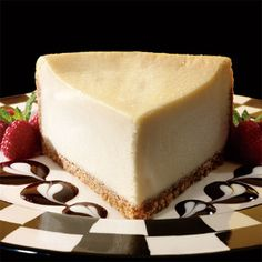 Slow cooker cheesecake.Delicious New York-Style cheesecake cooked in slow cooker.