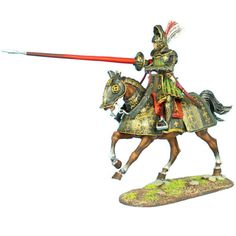 First-Legion-REN034-French-Mounted-Knight-with-Lance-2