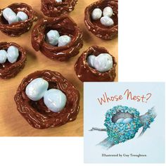 """These ceramic bird nests were inspired by my friend Jenni Ward's """"Create with Clay 3"""" ebook. I love how neatly the glaze color turned out."""