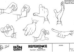 Hogarth hands - Character design notes blogspot