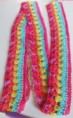 Reference Edging, trim, border  Crochet Sheet, blanket  LolaIsHooked: Crochet Along 2014 en Hexies