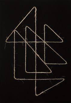F et M Quistrebert INFINITE LINE 1 C-print mounted on wood, 38 cm x 55 cm, 2011.