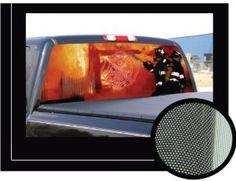 DESERTED S PICKUP TRUCK Rear Window Graphic Rear Window - Back window stickers for trucks