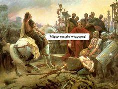 Cezar oświadcza - Mięso zostało wrzucone! (na ruszt)