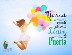 Nunca te rindas a veces la ultima llave es la que abre la puerta. #frasemotivadora #cucuta #motivacion #felizviernes