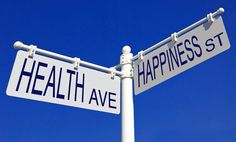 The road to happiness goes through healthiness