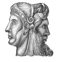 Janus, Roman God Photograph  - Janus, Roman God Fine Art Print