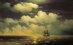 Mercury después de una victoria sobre dos buques turcos, 1848.