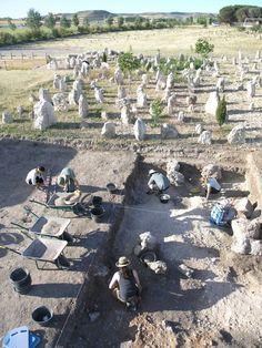 El yacimiento vacceo de Pintia en Padilla de Duero saca a la luz materiales que permiten reconstruir la vida de la población entre el siglo IV antes de Cristo y el siglo VII en el enclave.