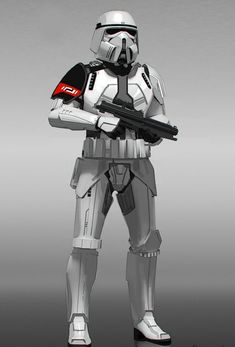 """The Force Awakens"" Stormtrooper Concept"