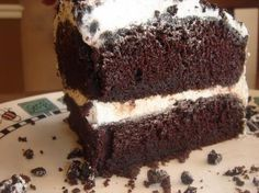 Made this as a birthday cake. This chocolate cake is absolutely thee best we have ever had. It is so moist and rich.