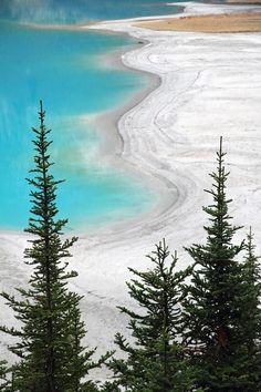 Beach at Lake Louise Banff National Park - Canada