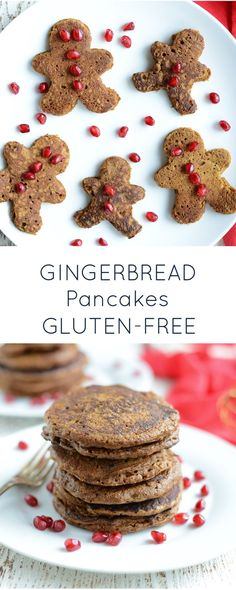 Gluten Free Gingerbread Pancakes are an easy, delicious and healthy breakfast that tastes like the season! Dairy-free and nut-free! Gingerbread Pancakes, Gluten Free Gingerbread, Gingerbread Recipes, Gingerbread Houses, Perfect Breakfast, Free Breakfast, Morning Breakfast, Dairy Free Pancakes, Gluten Free Oats