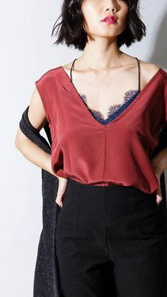 I can wear this top with every outfit! #lovemycami