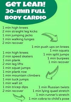 30 minute Full Body Cardio