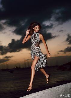 April '13 photo: Patrick Demarchelier model: Joan Smalls fashion editor: Tonne Goodman