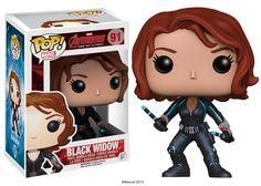 Figurines Funko POP Black Widow Avengers Age of ultron  Ca sort prochainement. Précommande possible sur www.fandegoodies.com