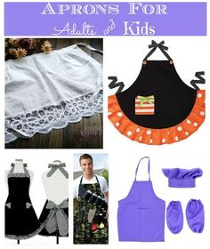We love BBQ's & we have a competition for the best apron! AWESOME aprons For Adults & Kids! AD