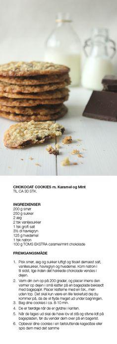 Sprøde Chokooat-cookies