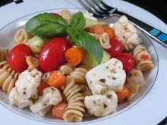 Basil Vinaigrette Summer Salad