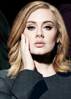 Who is Adele? Adele (Adele Laurie Blue Adkins) is an English singer and songwriter. Adele Adkins, Tilda Swinton, Ute Lemper, Adele Makeup, Adele Songs, Adele Quotes, Adele Music, Adele Style, Horror Makeup