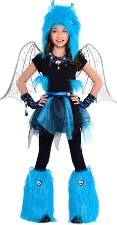 Girls Gargoyle Monter High Costume - Party City