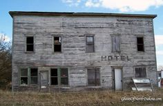 Ghost Town Building