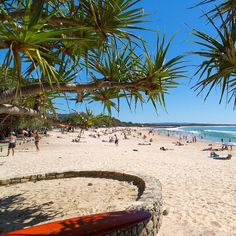 Summer vibes at Noosa Main Beach.