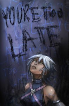 You're Too Late by Keyblades-chosen-one