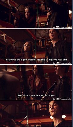 """#TVD 7x19 """"Somebody That I Used To Know"""" - Bonnie and Damon"""