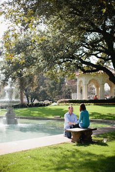 Flippen Park - Dallas Wedding Proposal - Photography by Jennefer Wilson
