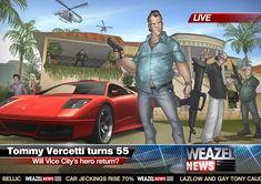 Tommy Vercetti GTA: Vice City in 2011