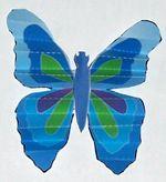 Preschool, Kindergarten and primary grades Kid's Easter Sunday School project: Resurrection Miracle Butterfly