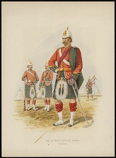 Giclee Print: The Royal Scots of Canada, Montreal, by H Bunnett : Canadian Army, Canadian History, British Army, Highlanders, World War One, Find Art, Framed Artwork, Montreal, Giclee Print