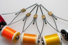 The bobbin holder - A simple tool
