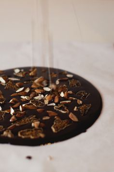 Chocolate bark - vegan, gluten-free, raw option