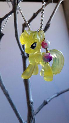 My Little Pony necklace girls birthday gift by mydisheveledducks