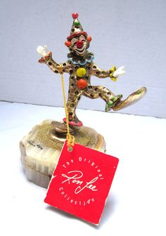 Ron Lee Clown Collectible Ron Lee Clown 1986 by GOSHENPICKERS